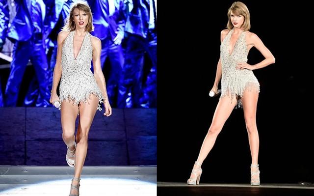 Đôi chân tỷ lệ vàng trị giá 40 triệu USD của Taylor Swift nay còn đâu khi cô nàng đang tăng cân không phanh thế này? - Ảnh 10.