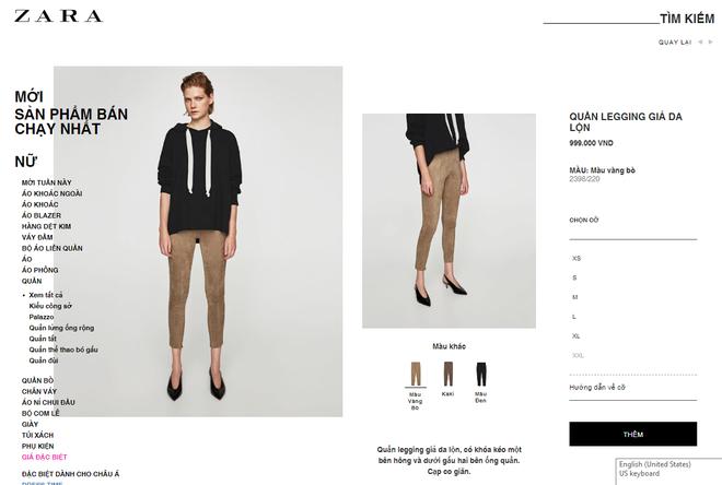 Không được đổi quần legging vừa mua, khách hàng tố Zara Hà Nội lừa đảo - Ảnh 2.