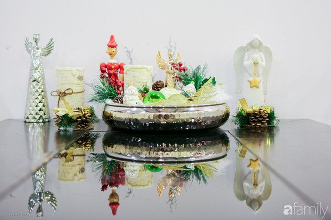 Hai căn hộ được trang trí đậm vị Giáng sinh với chi phí chỉ dưới 10 triệu đồng ở Hà Nội - Ảnh 8.