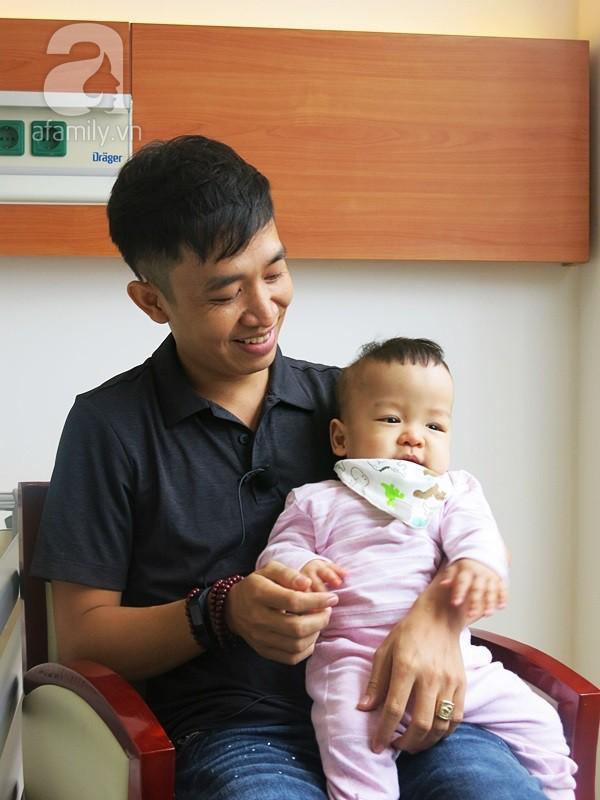 Bé sinh non bị xơ phổi rất nặng, cha vượt nghìn cây số đưa con đi ghép tế bào gốc và điều kỳ diệu xuất hiện - Ảnh 6.