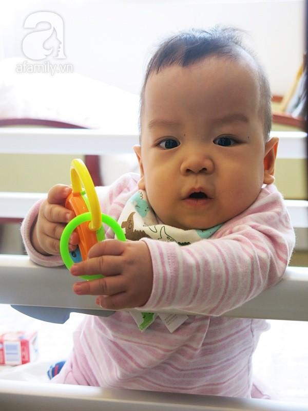 Bé sinh non bị xơ phổi rất nặng, cha vượt nghìn cây số đưa con đi ghép tế bào gốc và điều kỳ diệu xuất hiện - Ảnh 3.