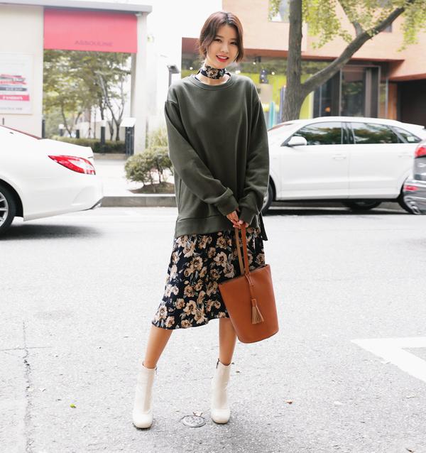 Tận dụng váy hè mà vẫn diện ấm áp trong mùa đông với những gợi ý sau - Ảnh 1.