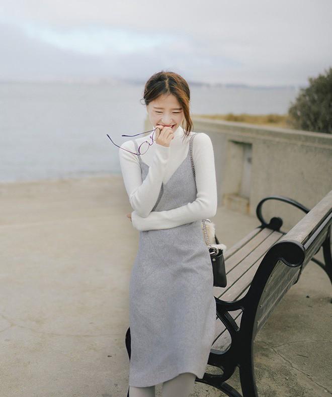 Diện váy hè mà vẫn thật ấm áp vào mùa đông với những gợi ý dưới đây - Ảnh 10.