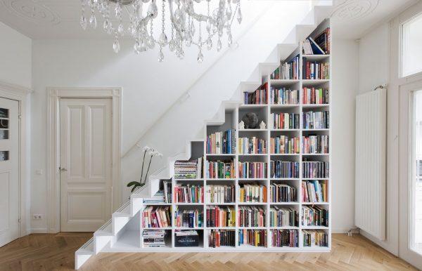 20 thiết kế giá sách kết hợp với cầu thang vô cùng đẹp mắt - Ảnh 11.