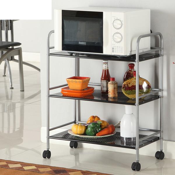 13 mẫu giá kệ để lò vi sóng tiện dụng cho nhà bếp nhỏ - Ảnh 11.