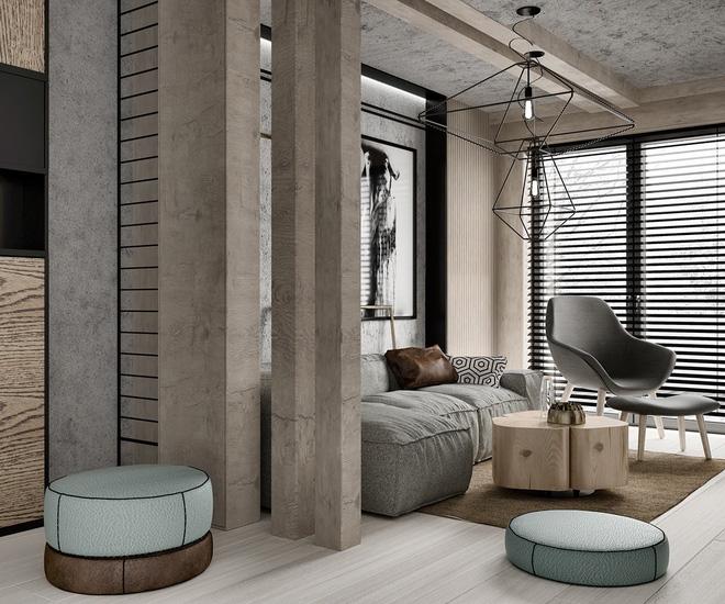 Hai căn hộ 35m² với phong cách trang trí công nghiệp nhưng lãng mạn đến khó tin - Ảnh 11.