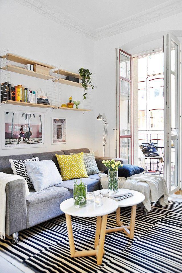 Làm thế nào để bài trí phòng khách nhỏ vỏn vẹn 10m² thành không gian đẹp? - Ảnh 11.