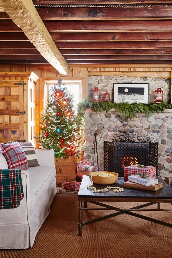 17 ý tưởng trang trí cây thông Noel mini đẹp, độc, lạ dành riêng cho nhà nhỏ  - Ảnh 10.
