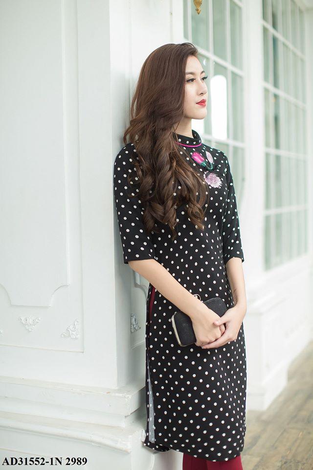 Những thiết kế áo dài cách tân thuần Việt giá dưới 1.5 triệu đẹp lung linh cho nàng diện Tết - Ảnh 2.