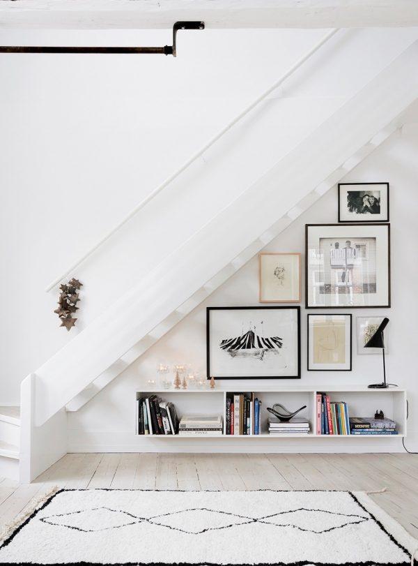 20 thiết kế giá sách kết hợp với cầu thang vô cùng đẹp mắt - Ảnh 12.