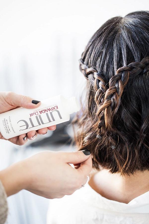 Làm điệu với 3 kiểu tết cực đơn giản dành cho các nàng tóc ngắn - Ảnh 12.