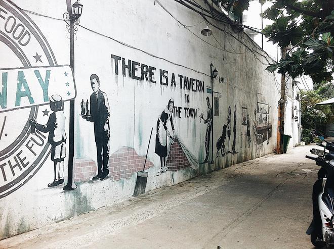 Vạn lần ngược xuôi Sài Gòn nhưng không phải ai cũng thấy những bức tranh tường chất ngất như thế! - Ảnh 12.