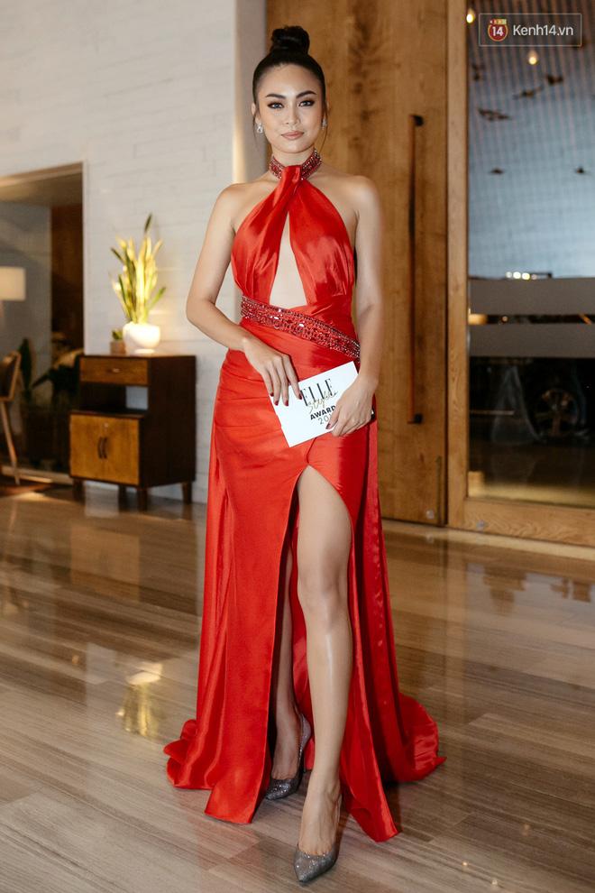 Hồ Ngọc Hà chấp hết thảm đỏ của Elle với đầm nửa tỷ, An Nguy cũng xúng xính hàng hiệu trăm triệu - Ảnh 12.