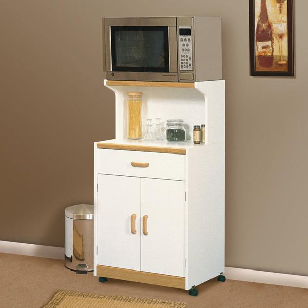 13 mẫu giá kệ để lò vi sóng tiện dụng cho nhà bếp nhỏ - Ảnh 12.