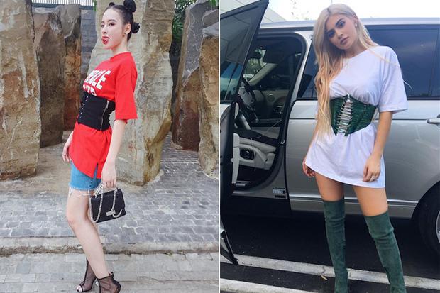 Thiên hạ đệ nhất sao chép phong cách của showbiz Việt: có lẽ là Angela Phương Trinh? - Ảnh 12.