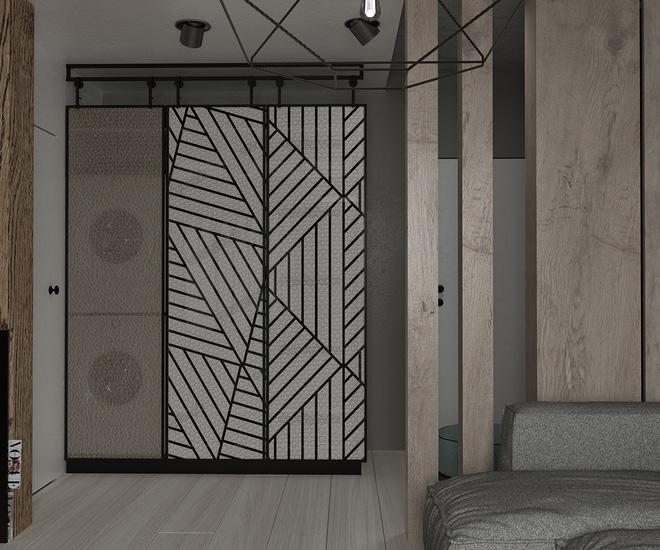 Hai căn hộ 35m² với phong cách trang trí công nghiệp nhưng lãng mạn đến khó tin - Ảnh 12.