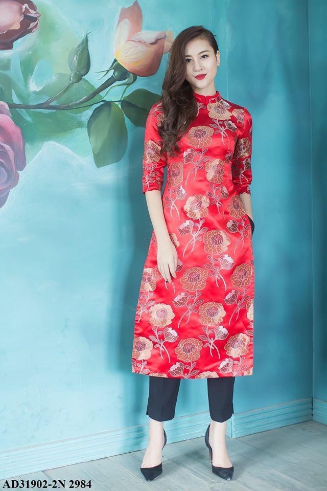 Những thiết kế áo dài cách tân thuần Việt giá dưới 1.5 triệu đẹp lung linh cho nàng diện Tết - Ảnh 3.