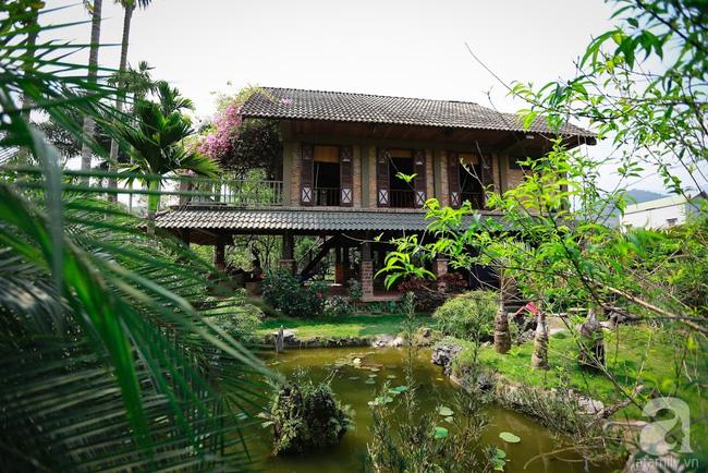 Nhà vườn xanh mát bóng cây, hoa nở đẹp cách Hà Nội 45 phút chạy xe - Ảnh 13
