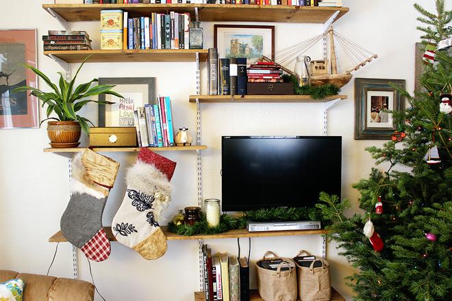 Trang trí nhà đón Noel bằng những chiếc tất - vừa lạ, vừa dễ thương, vừa dễ làm - Ảnh 13.