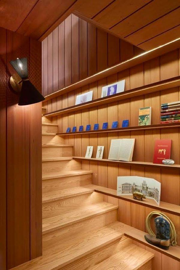 20 thiết kế giá sách kết hợp với cầu thang vô cùng đẹp mắt - Ảnh 14.