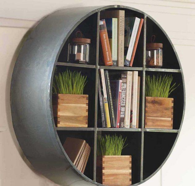 Những mẫu kệ tròn làm nổi bật không gian sống của bạn - Ảnh 14.