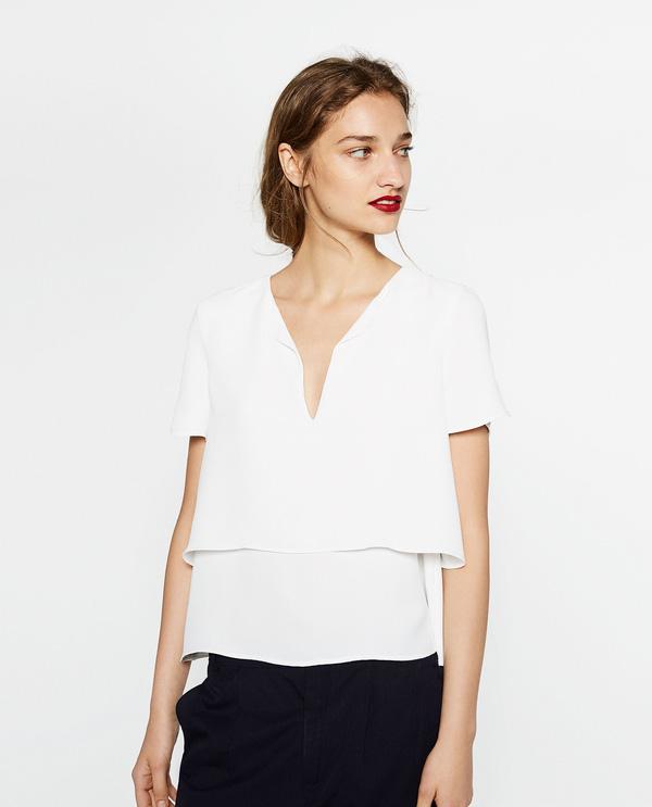 Chỉ cần chọn đúng kiểu cổ áo thì mọi nhược điểm phần thân trên đều được giải quyết nhanh gọn - Ảnh 10.