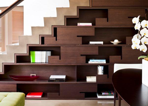 20 thiết kế giá sách kết hợp với cầu thang vô cùng đẹp mắt - Ảnh 15.