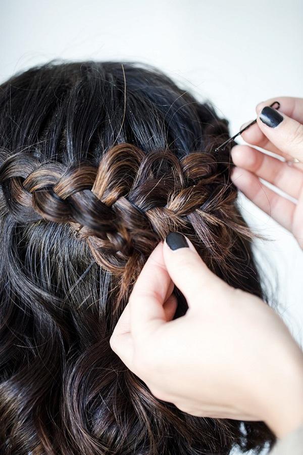 Làm điệu với 3 kiểu tết cực đơn giản dành cho các nàng tóc ngắn - Ảnh 15.
