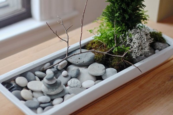 6 ý tưởng biến sỏi đá thành đồ trang trí nhà cực đẹp lại rất dễ làm - ảnh 5