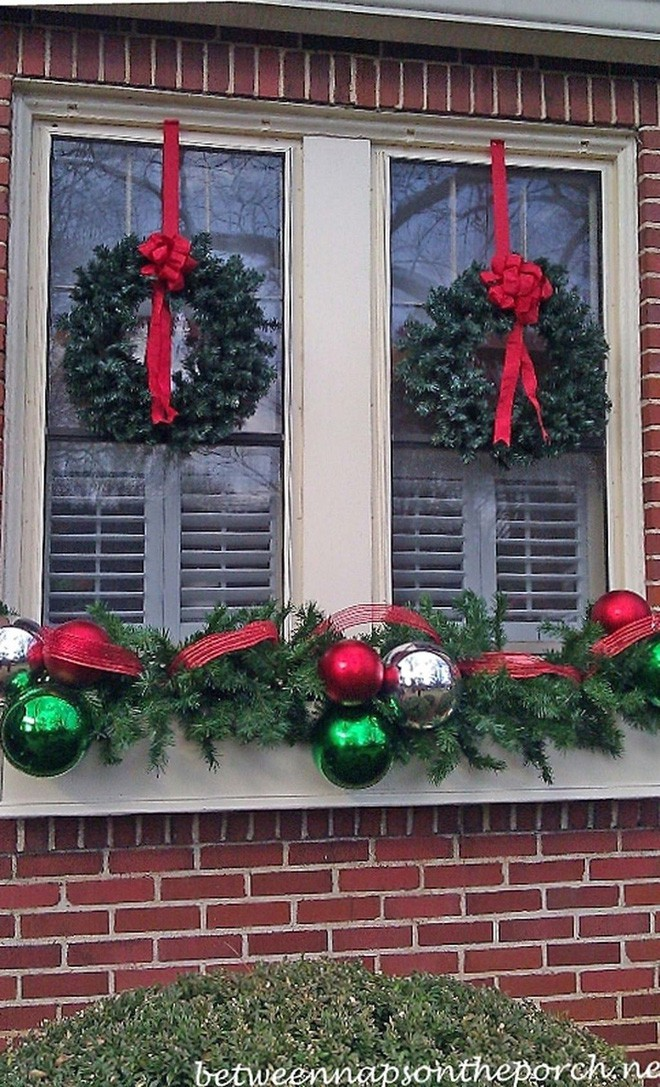 Mang không khí Giáng sinh đến từng khung cửa sổ nhà bạn với hàng loạt ý tưởng trang trí sáng tạo - Ảnh 15.