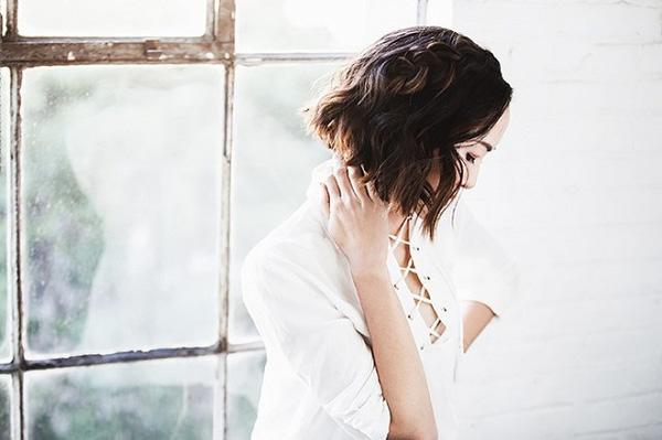 Làm điệu với 3 kiểu tết cực đơn giản dành cho các nàng tóc ngắn - Ảnh 16.