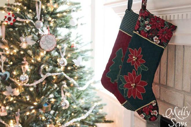 Trang trí nhà đón Noel bằng những chiếc tất - vừa lạ, vừa dễ thương, vừa dễ làm - Ảnh 16.