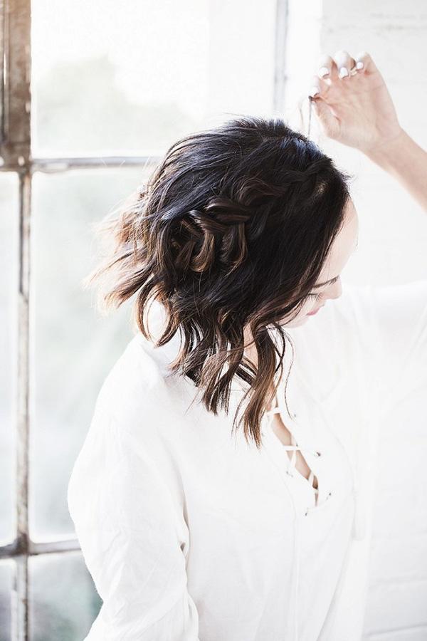 Làm điệu với 3 kiểu tết cực đơn giản dành cho các nàng tóc ngắn - Ảnh 17.