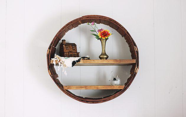 Những mẫu kệ tròn làm nổi bật không gian sống của bạn - Ảnh 17.