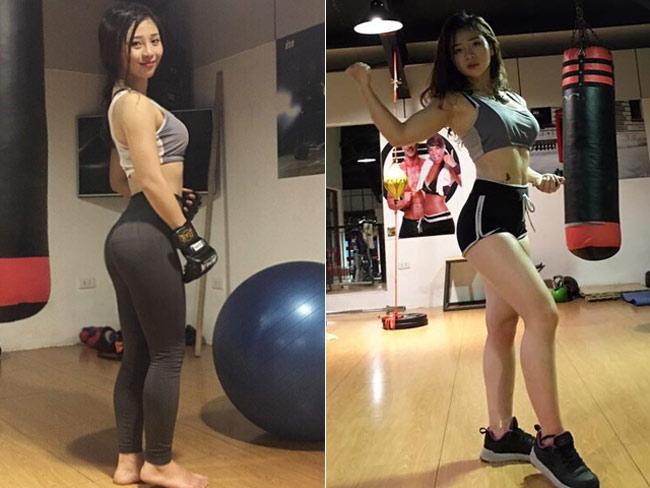 Cùng với võ thuật, Bông Trần có niềm đam mê đặc biệt với gym.