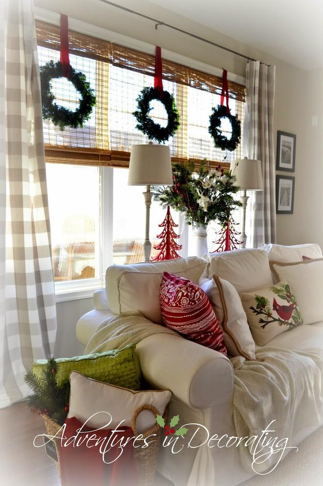 Mang không khí Giáng sinh đến từng khung cửa sổ nhà bạn với hàng loạt ý tưởng trang trí sáng tạo - Ảnh 17.