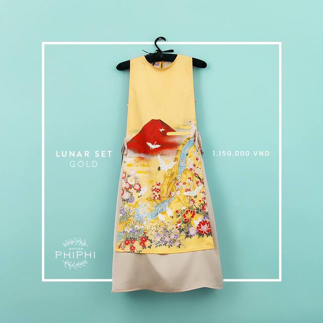 Những thiết kế áo dài cách tân thuần Việt giá dưới 1.5 triệu đẹp lung linh cho nàng diện Tết - Ảnh 6.