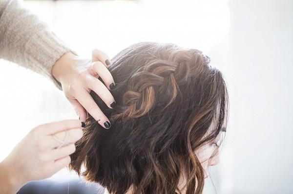 Làm điệu với 3 kiểu tết cực đơn giản dành cho các nàng tóc ngắn - Ảnh 19.