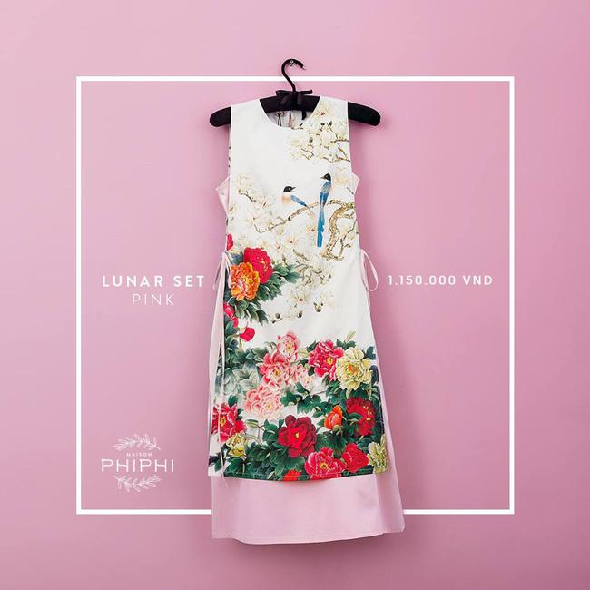 Những thiết kế áo dài cách tân thuần Việt giá dưới 1.5 triệu đẹp lung linh cho nàng diện Tết - Ảnh 7.