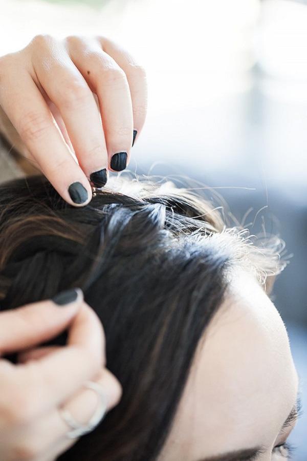 Làm điệu với 3 kiểu tết cực đơn giản dành cho các nàng tóc ngắn - Ảnh 20.