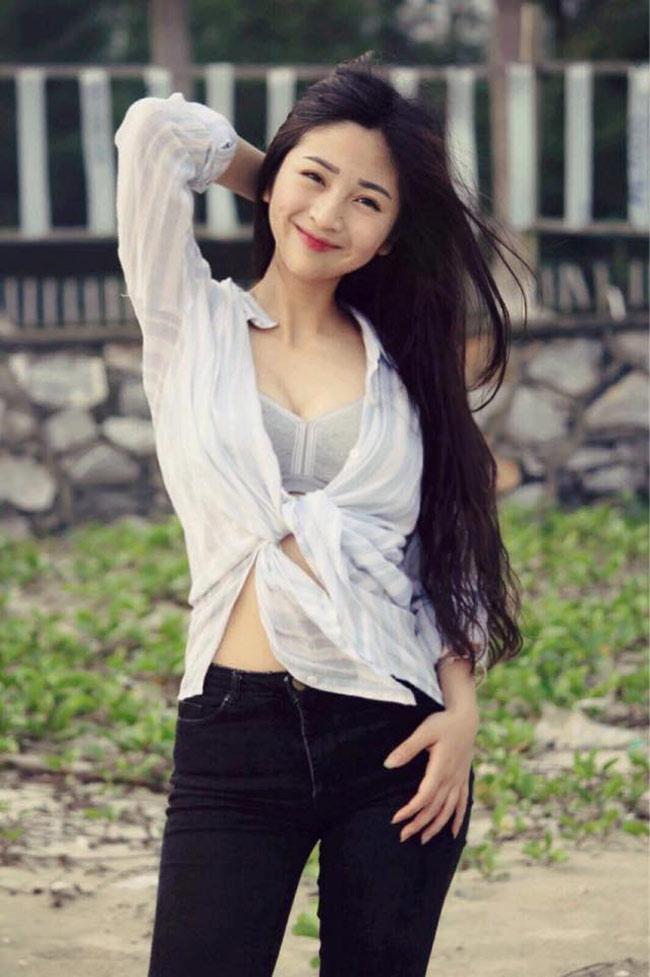 Sắp tới, cô nàng sẽ nhập học ngành Hệ thống thông tin trường Đại học Nội vụ (Hà Nội).