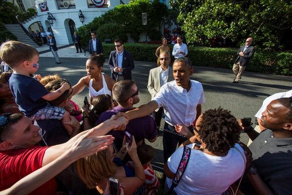 Obama và những bữa tiệc riêng tư tại Nhà Trắng - Ảnh 3.