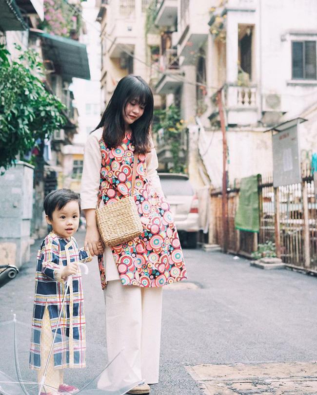 5 tiệm áo dài cách tân cực chất, giá dưới 1 triệu để đẹp cả Tết ở Hà Nội - Ảnh 9.