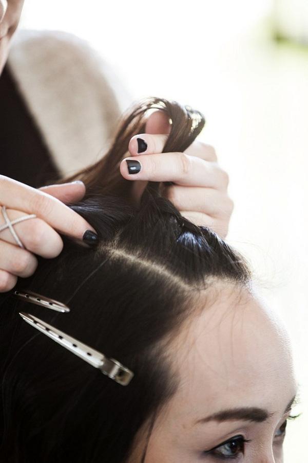 Làm điệu với 3 kiểu tết cực đơn giản dành cho các nàng tóc ngắn - Ảnh 3.