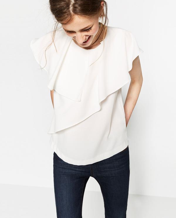 Chỉ cần chọn đúng kiểu cổ áo thì mọi nhược điểm phần thân trên đều được giải quyết nhanh gọn - Ảnh 3.