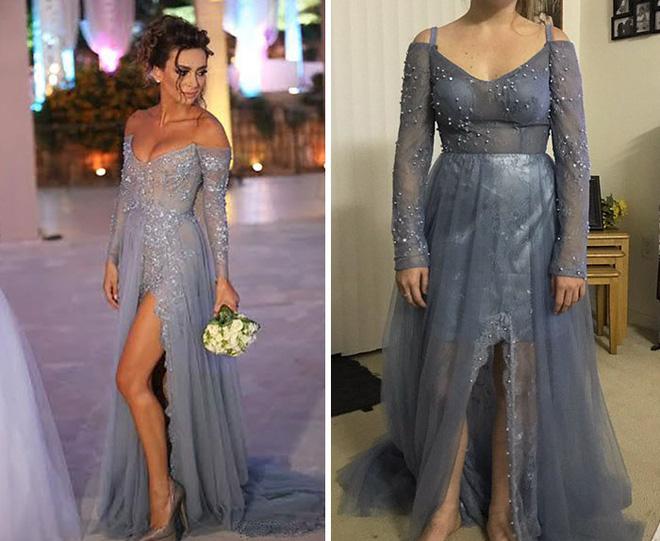 Những bộ váy prom thảm họa mua online biến công chúa thành phù thủy trong chớp mắt - Ảnh 4.