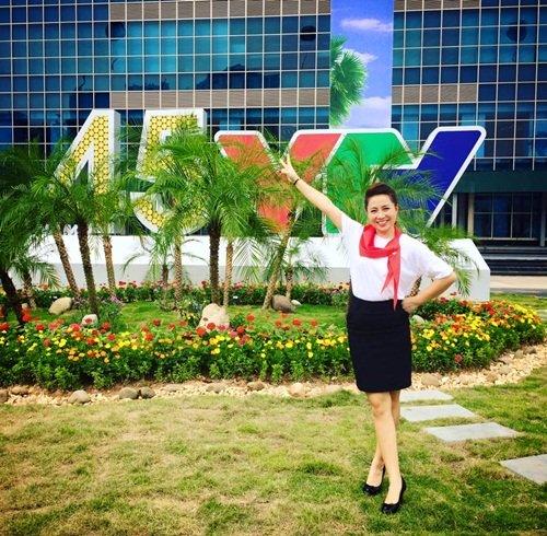 Hình ảnh không có trên truyền hình của BTV Lê Hằng - Ảnh 3.