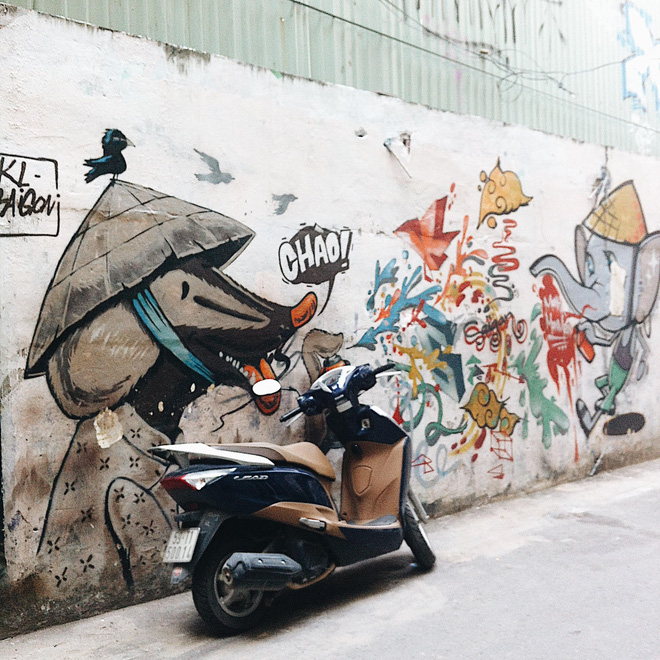 Vạn lần ngược xuôi Sài Gòn nhưng không phải ai cũng thấy những bức tranh tường chất ngất như thế! - Ảnh 3.