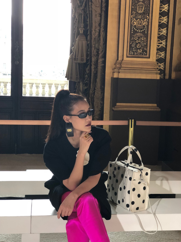 Nghi vấn Maya khoe ảnh dự show Balmain tại Paris Fashion Week, nhưng chỉ là đến chụp ảnh rồi đi về - Ảnh 3.