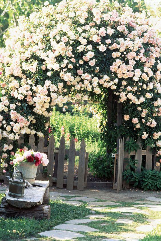 Chiêm ngưỡng vẻ đẹp lộng lẫy của những chiếc cổng nhà tràn ngập hoa - Ảnh 3.